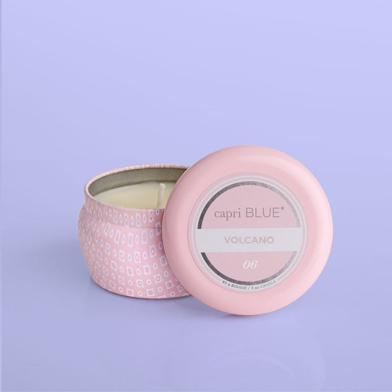 Capri Blue Pink Volcano Mini Tin