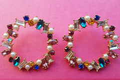 80's Jewel Queen Earrings