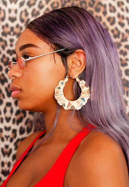 90's Gyal Hoop Earrings