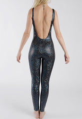 festival metallic catsuit from independent brand Tirade 13