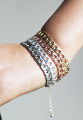 Four Colour Chain Bracelet