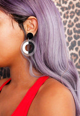 Mono Babe Acrylic Earrings
