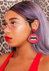 Say What Hun?! Acrylic Earrings