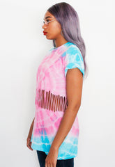 Unicorn Oversized Tie Dye Tee