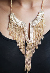 Waterfall Chain Necklace