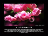 "Inspirational Photo ""Adornment"""