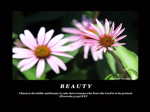 "Inspirational Photo ""Beauty"""