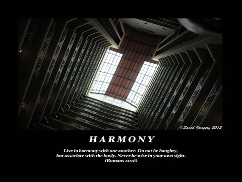 "Inspirational Photo ""Harmony"""