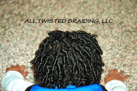 Baby Boy Comb Coils