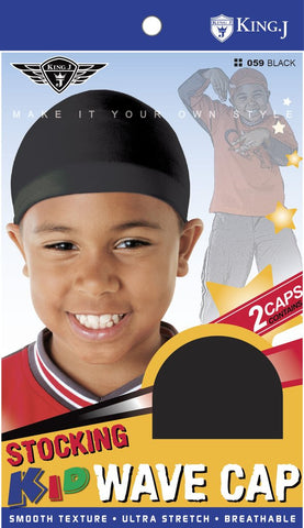 King J Kids Stocking Wave Cap
