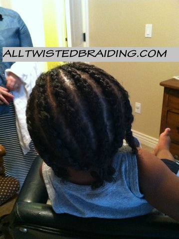 Basic Cornrows $35