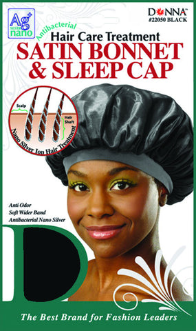 Antibacterial Satin Bonnet & Sleep Cap