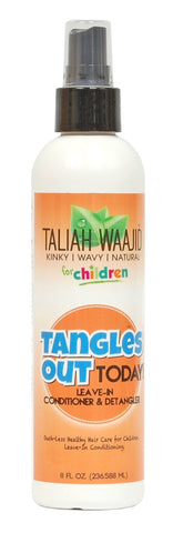 Taliah Waajid Tangles Out Today Kids Leave in Detangler