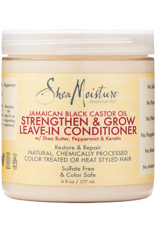 Shea Moisture Jamaican Black Castor Oil Strengthen & Grow Leave-In Conditioner