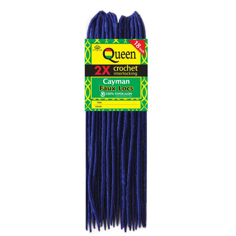 "Sepia Queen CAYMAN FAUX LOCS 18"" Hair Extensions for Crochet Extensions"