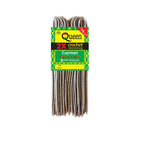 "Sepia Queen CAYMAN FAUX LOCS 14"" Hair Extensions for Crochet Extensions"