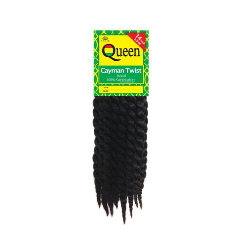 "Sepia Queen CAYMAN TWIST BRAID 14"" Hair Extensions for Crochet Extensions"