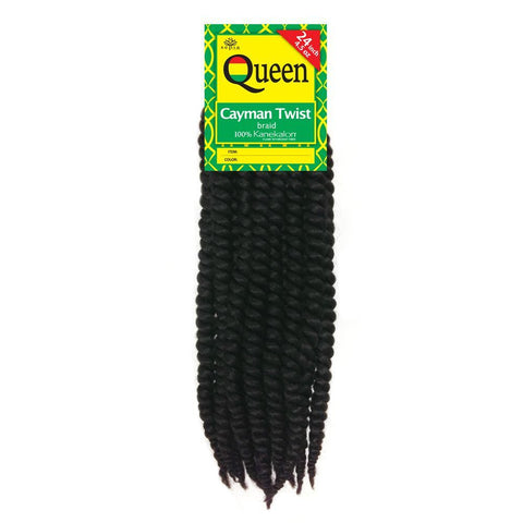 "Sepia Queen CAYMAN TWIST BRAID 24"" Hair Extensions for Crochet Extensions"
