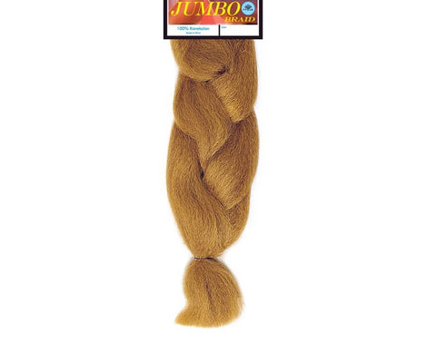 Jumbo 100% Kanekalon Synthetic Braiding Hair