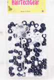 Hair Beads Acrylic Round (Various Colors)