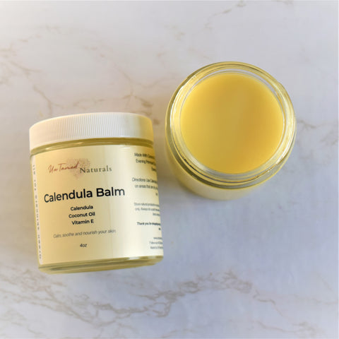 Calendula Balm with lavender essential oil