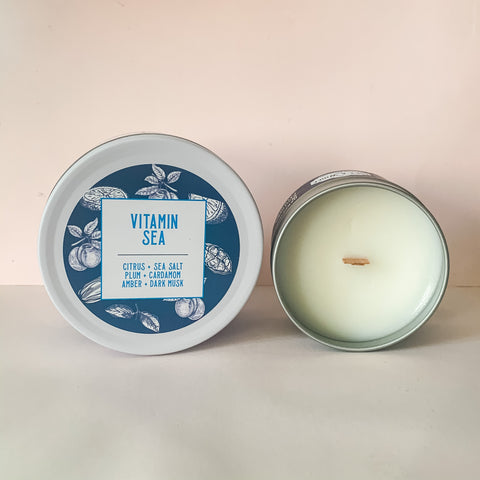 Vitamin Sea Coconut Wax Candle