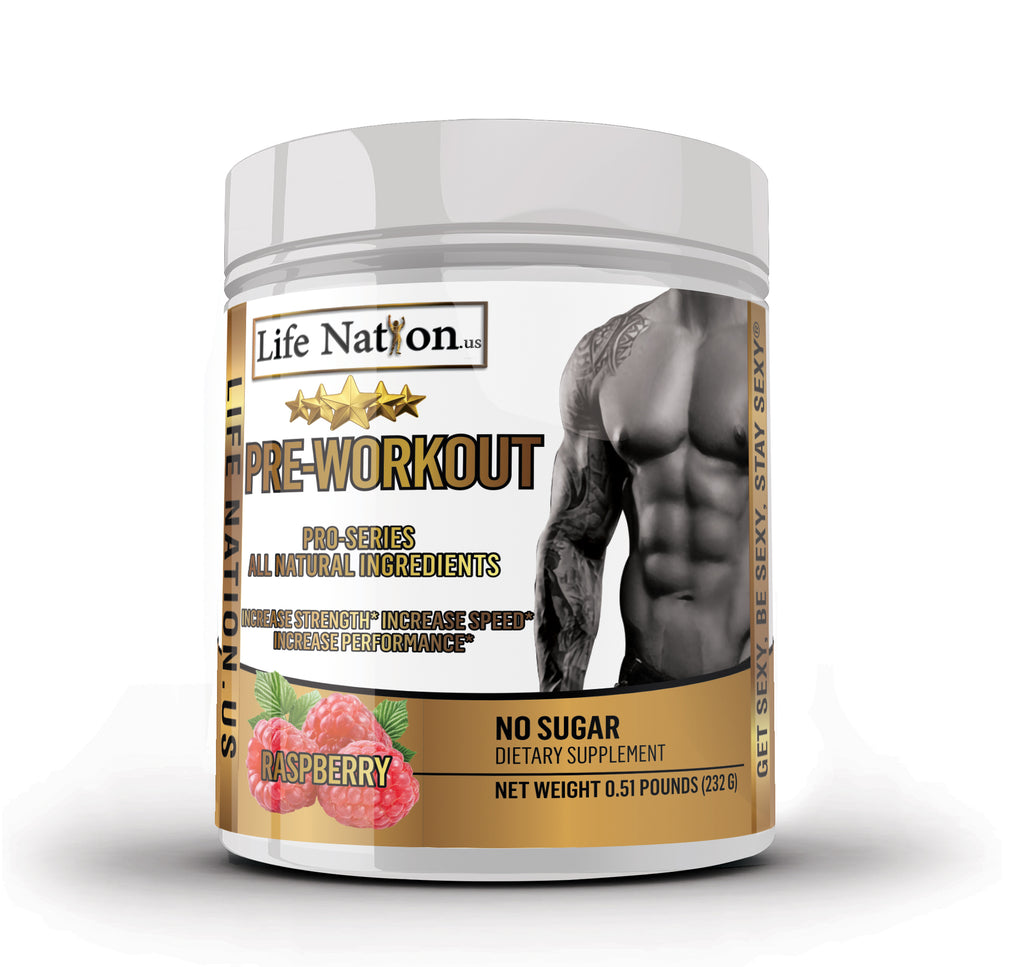 LifeNation.us Gold Star Pro-Series Pre-Workout