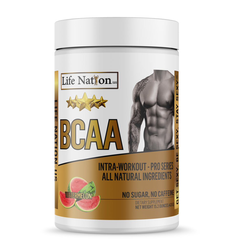 LifeNation.us Pro-Series BCAA - Watermelon