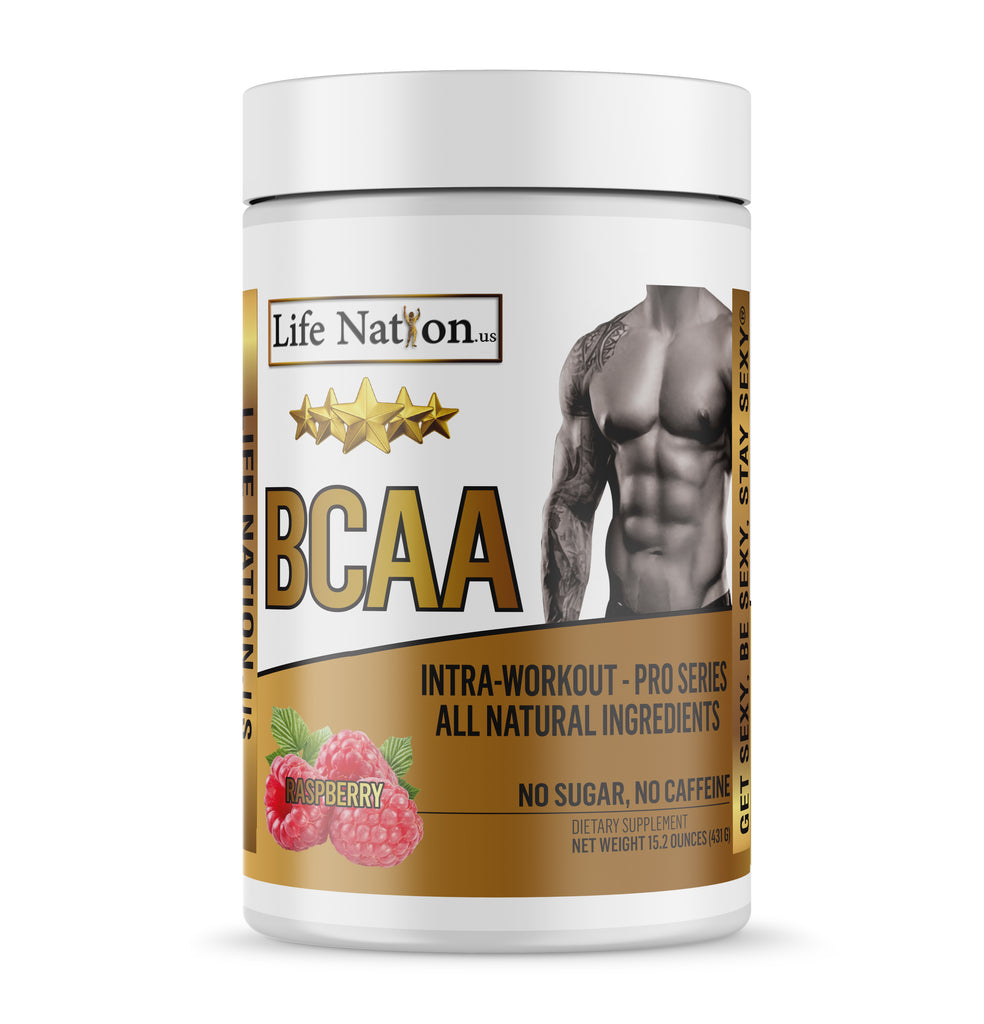 LifeNation.us Pro-Series BCAA - Raspberry