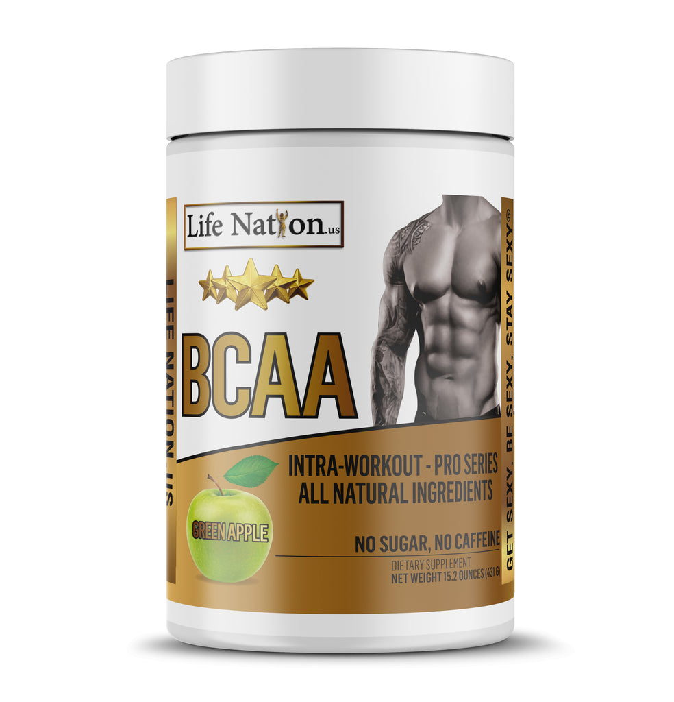 LifeNation.us Pro-Series BCAA - Green Apple