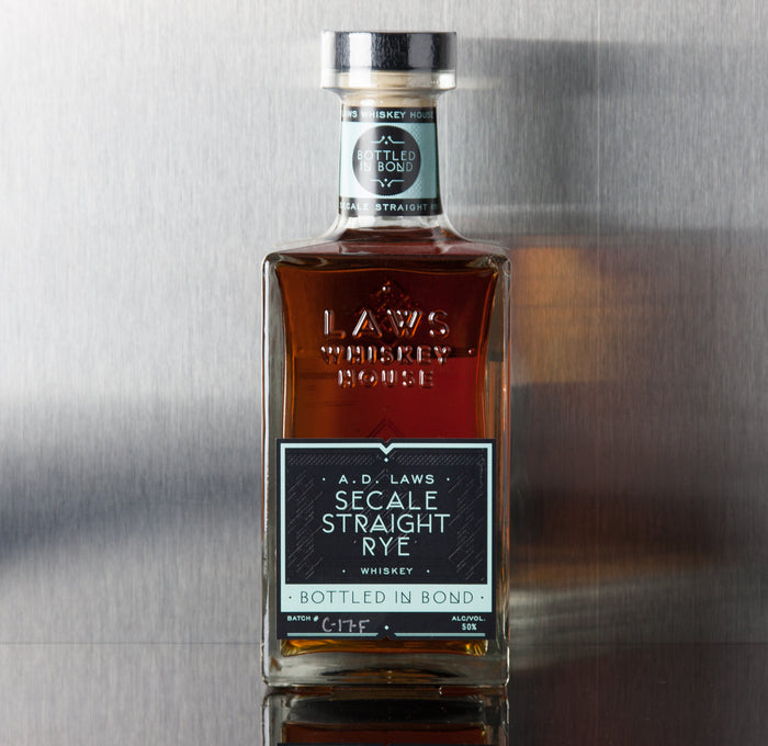 A.D. Laws Secale Straight Rye Whiskey - A.D. Laws - Third Base Market & Spirits Liquor