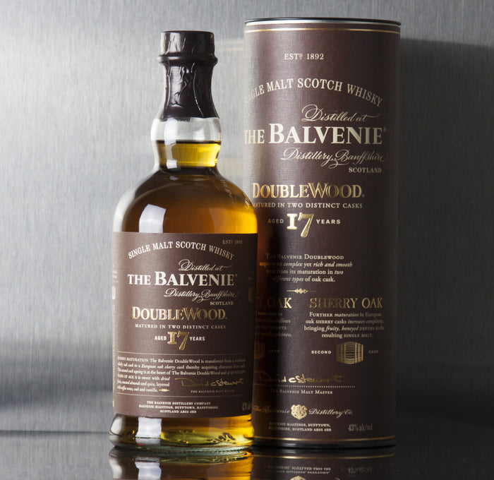 Balvenie 17 Year DoubleWood Single Malt Scotch 750 ml