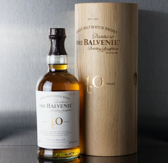 Balvenie 40 Year Single Malt Scotch 750 ml