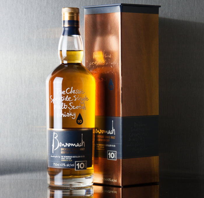 Benromach 10 Year Single Malt Scotch 750 ml