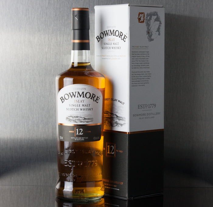 Bowmore 12 Year Single Malt Scotch 750 ml