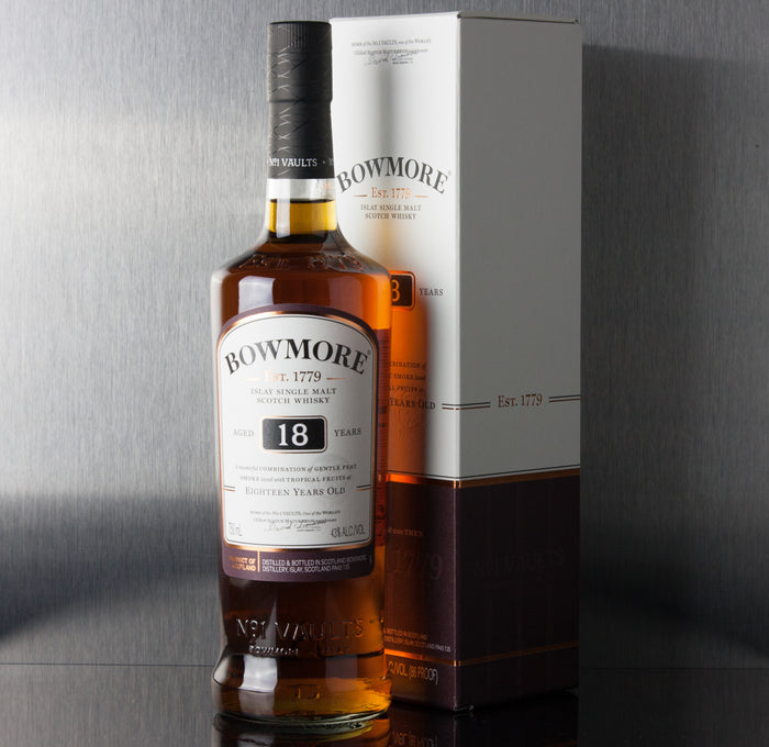 Bowmore 18 Year Single Malt Scotch 750 ml