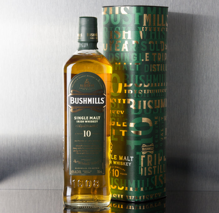 Bushmills Single Malt 10 Year Whiskey 750 ml