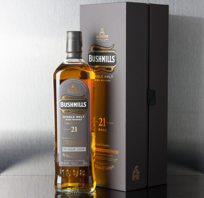 Bushmills Single Malt 21 Year Whiskey 750 ml