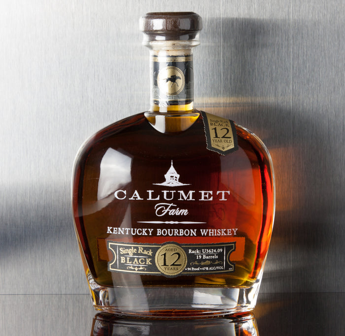 Calumet Single Rack Black 12 Year Bourbon 750 ml