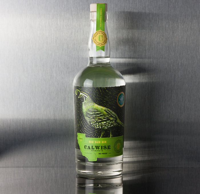 Calwise Big Sur Gin - Calwise - Third Base Market & Spirits Liquor