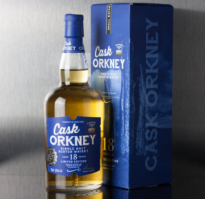 Cask Orkney 18 Year - A.D. Rattray - Third Base Market & Spirits Liquor