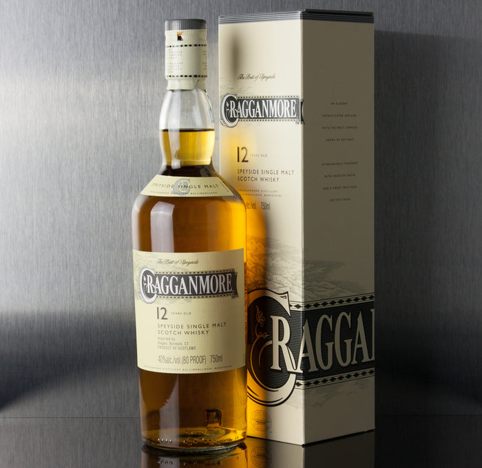 Cragganmore 12 Year Single Malt Scotch 750 ml