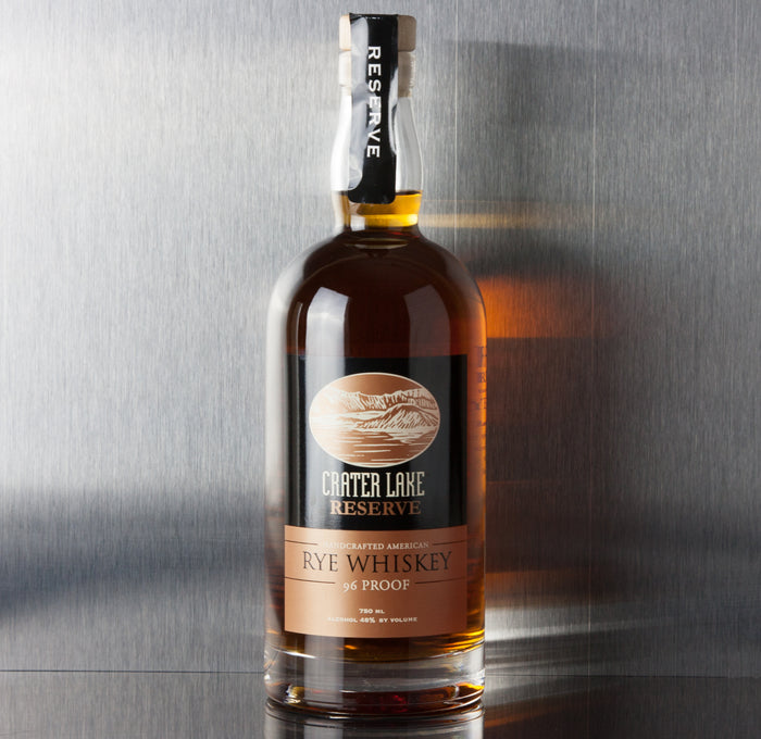 Crater Lake Reserve Rye Whiskey 750 ml