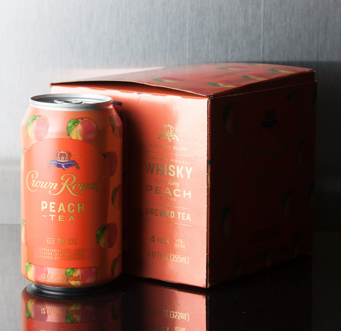 Crown Royal Peach Tea 4 Pack