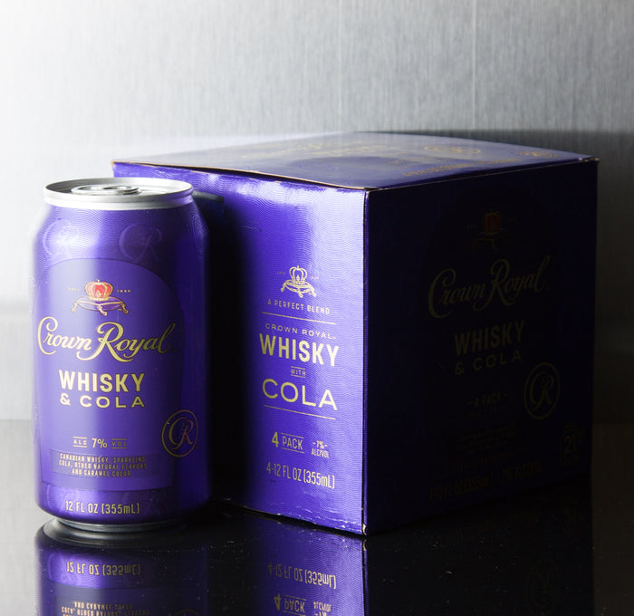 Crown Royal Whisky with Cola 4 Pack