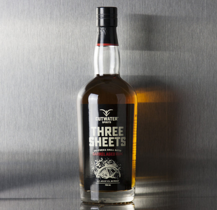 Cutwater Three Sheets Barrel Aged Rum 750 ml