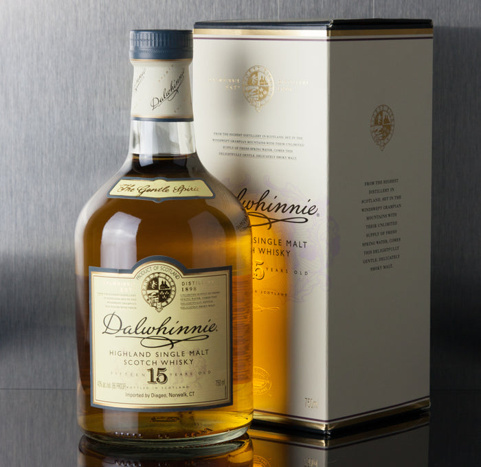 Dalwhinnie 15 Year Single Malt Scotch 750 ml