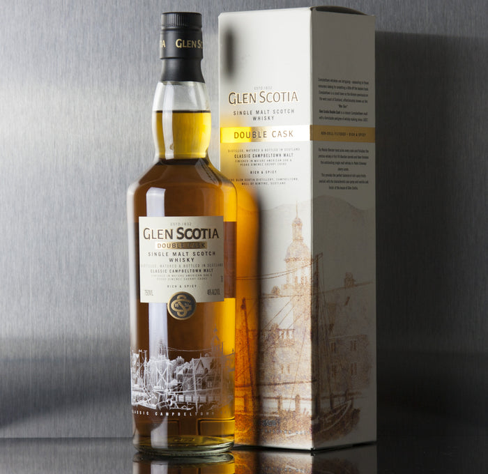 Glen Scotia Double Cask Single Malt Scotch 750 ml