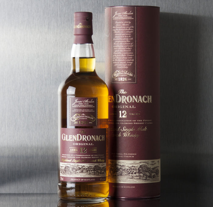 Glendronach Original 12 Year Single Malt Scotch 750 ml