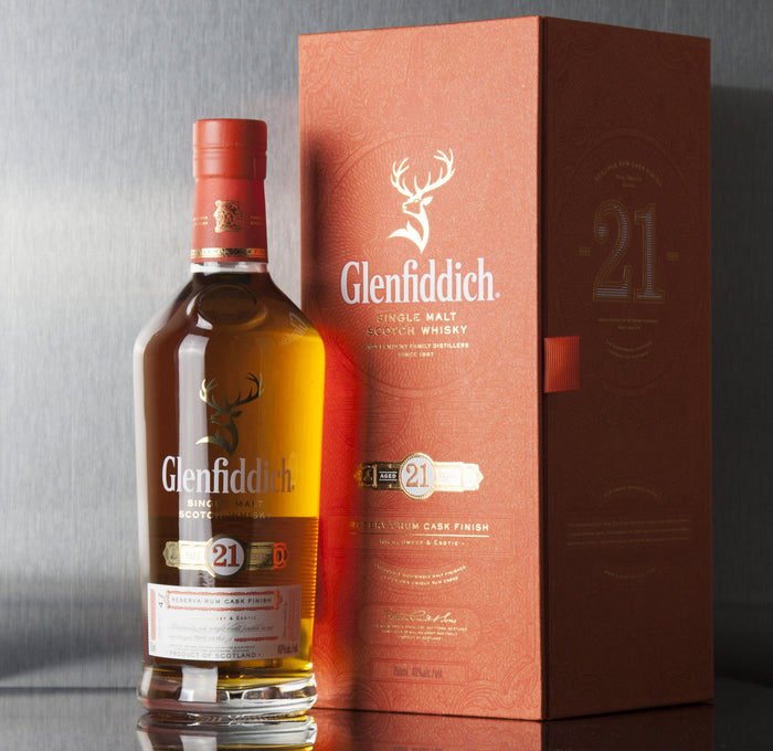 Glenfiddich 21 Year Reserva Rum Cask Finish Single Malt Scotch 750 ml